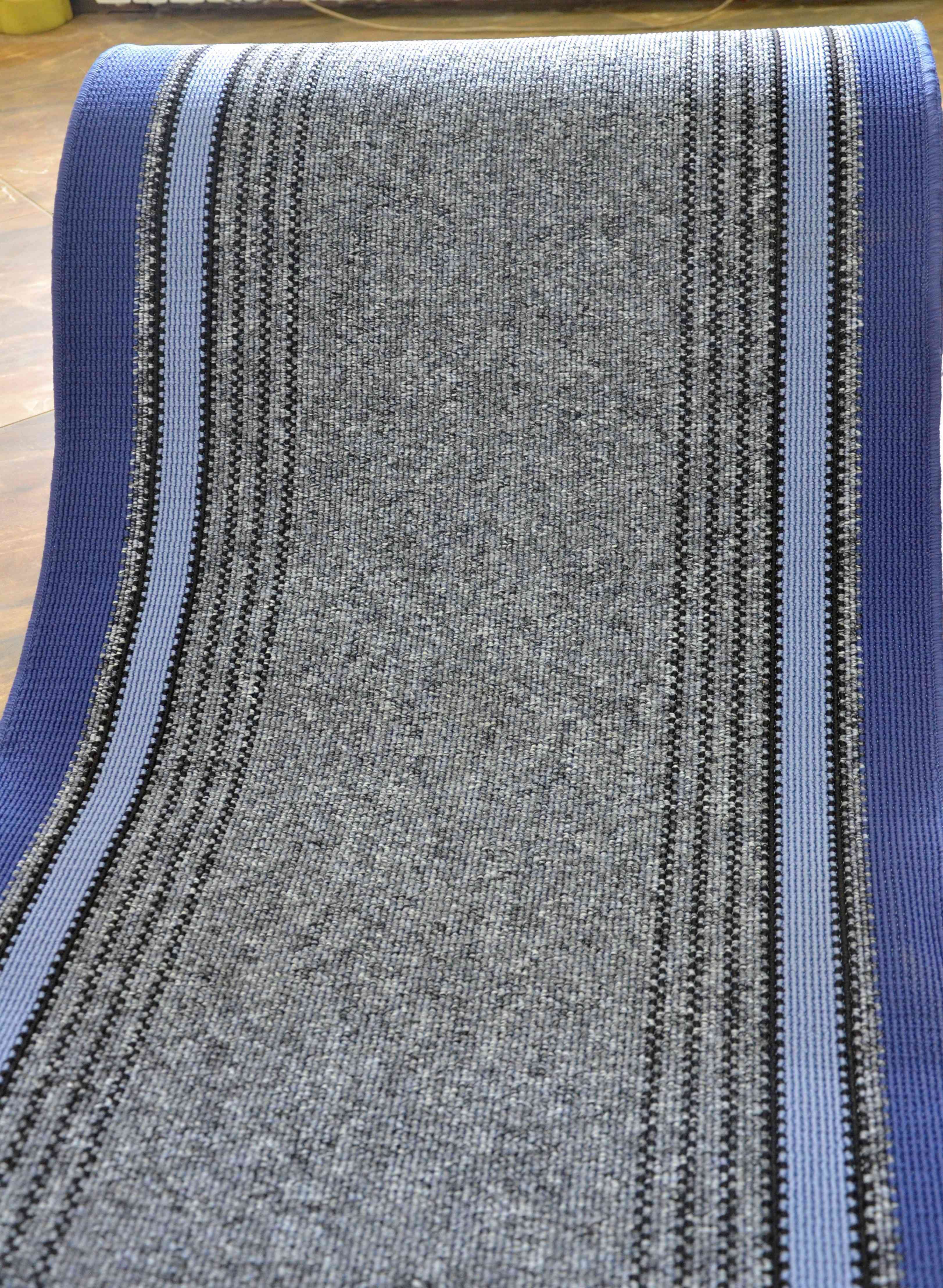 Traversa Covor, Saba 08, Albastru, 100x600 cm, 1350 gr/mp, 1x6 m 4