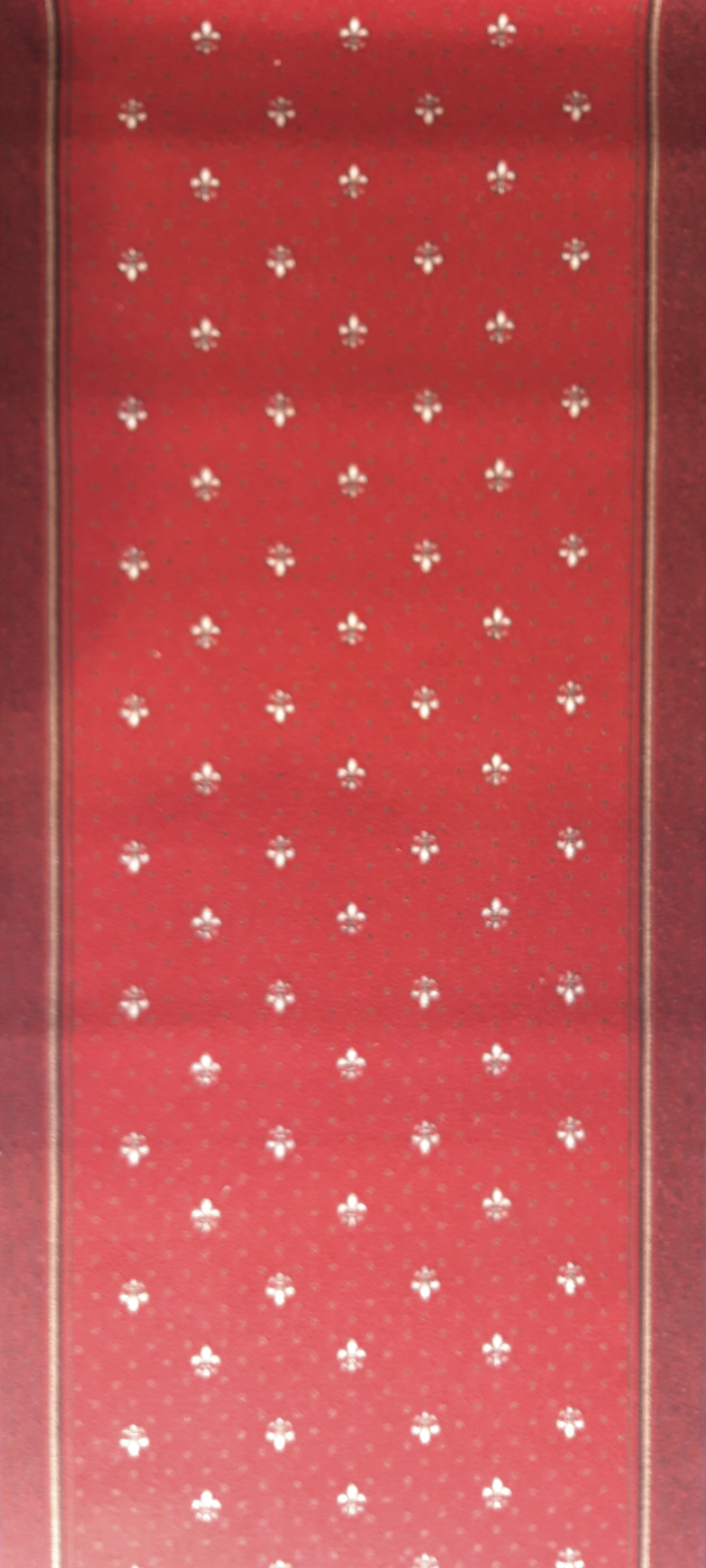 Traversa Tesatura Plata 1835, Rosu, 100x400 cm, 820 gr/mp 1