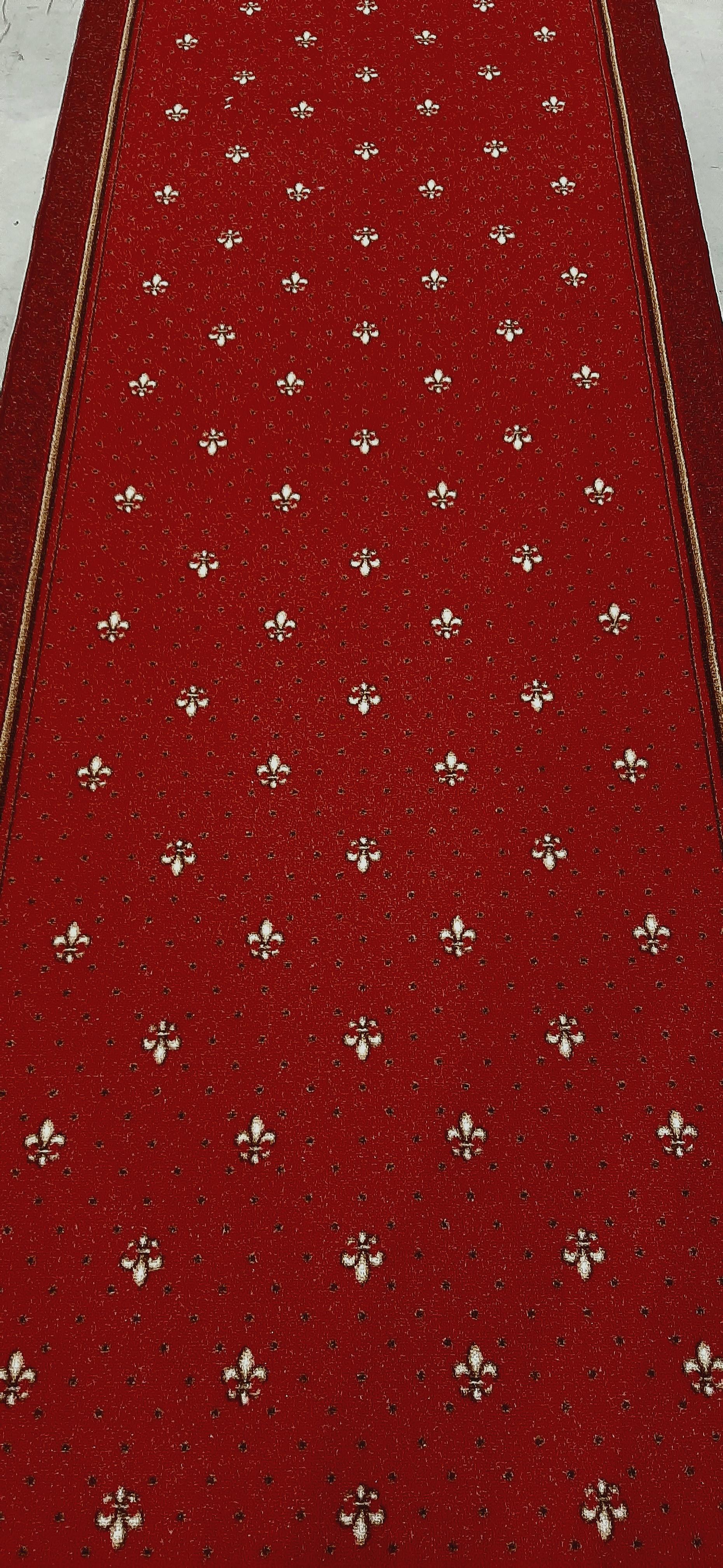 Traversa Tesatura Plata 1835, Rosu, 100x2500 cm, 820 gr/mp 1