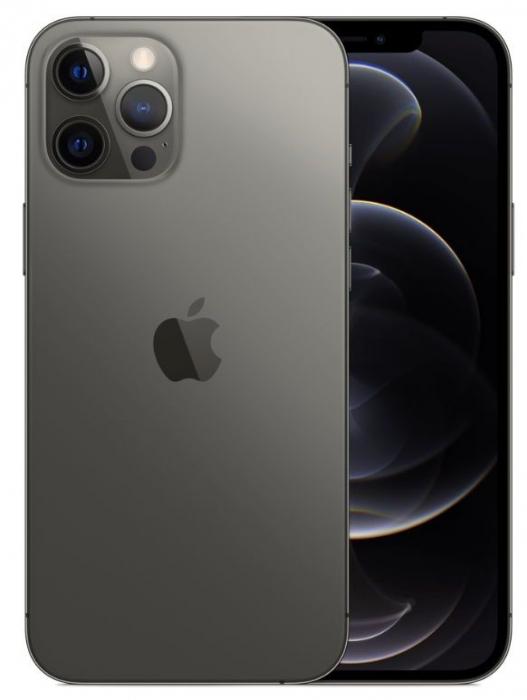 Telefon mobil Apple iPhone 12 Pro Graphite - Grafit 128GB + Folie Sticla Cadou [0]