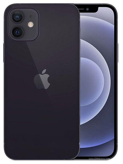 Telefon mobil Apple iPhone 12 Black Negru,64GB, Dual eSim, Super retina XDR [1]