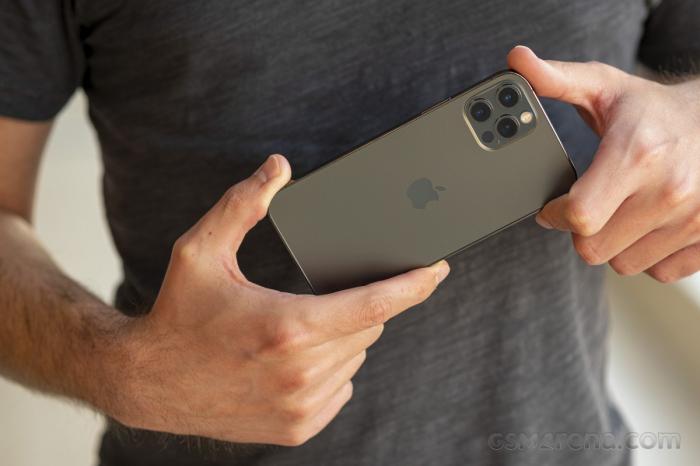 Telefon mobil Apple iPhone 12 Pro Graphite - Grafit 128GB + Folie Sticla Cadou [3]