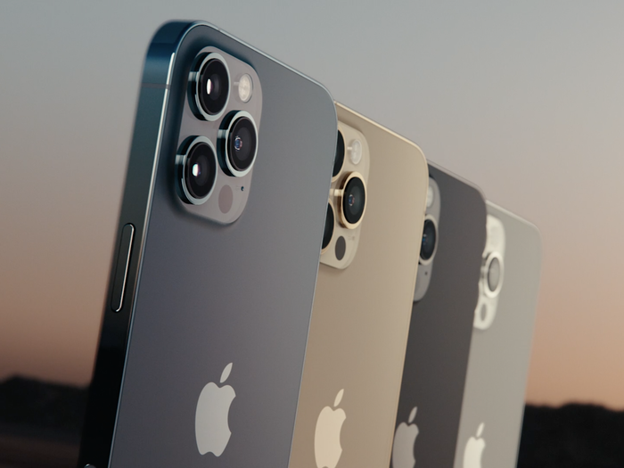 Telefon mobil Apple iPhone 12 Pro Graphite - Grafit 128GB + Folie Sticla Cadou [5]