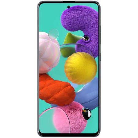 Telefon mobil Samsung Galaxy A51, Dual SIM, 128GB, 4GB RAM, 4G, Prism Black [0]