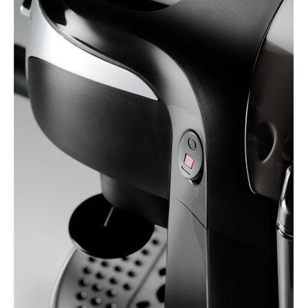 Espressor manual De'Longhi EC221.B, Dispozitiv spumare, Sistem cappuccino, 15 Bar, 1 l, Oprire automata, Negru/Gri [6]