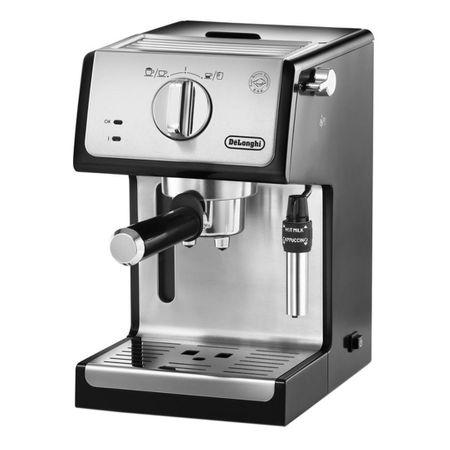 Espressor cu pompa De'Longhi ECP 35.31, 1100 W, 15 bar, 1.1 l, Negru, Suport filtru profesional, Cappuccino system reglabil - functie apa calda [7]