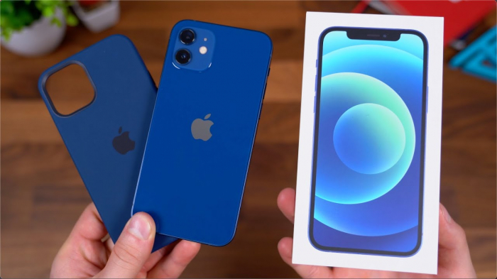 Apple iPhone 12 128GB Blue Albastru 5G NOU SIGILAT Super Retina XDR [1]