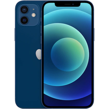 Apple iPhone 12 128GB Blue Albastru 5G NOU SIGILAT Super Retina XDR [0]