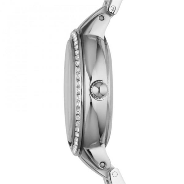 Ceas de dama original Fossil Argintiu, decorat cu cristale stralucitoare [5]