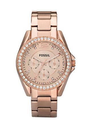 Ceas de dama Fossil cu functii multiple si cristale LUX Swarovski [6]