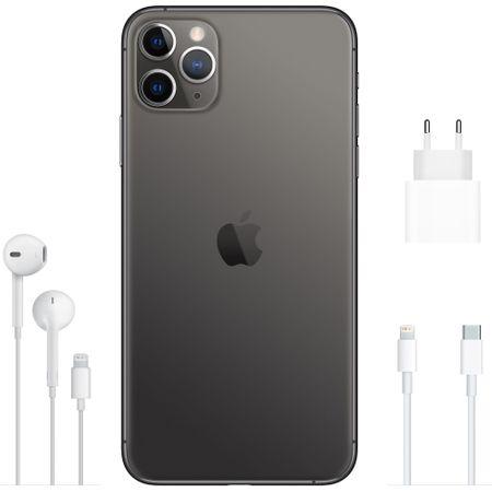 Telefon mobil Apple iPhone 11 Pro Max, 64GB, Negru / Space Grey [3]