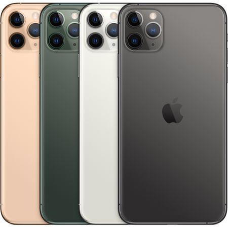 Telefon mobil Apple iPhone 11 Pro Max, 64GB, Space Grey [4]