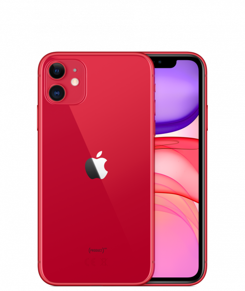 Telefon mobil Apple iPhone 11, 64GB, Red [1]