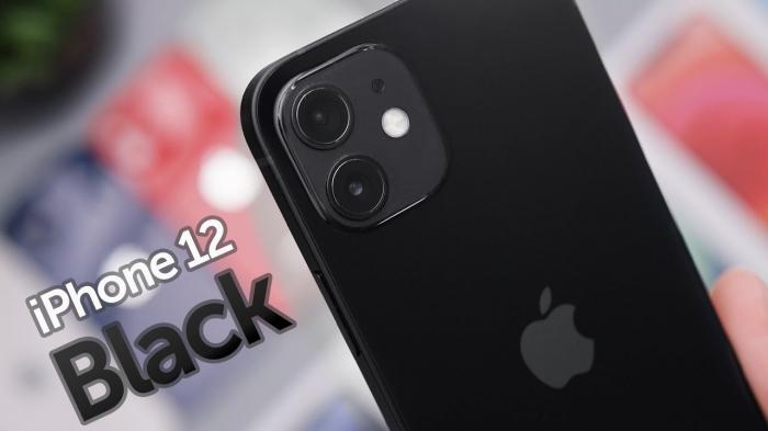 Telefon mobil Apple iPhone 12 Black Negru,64GB, Dual eSim, Super retina XDR [4]