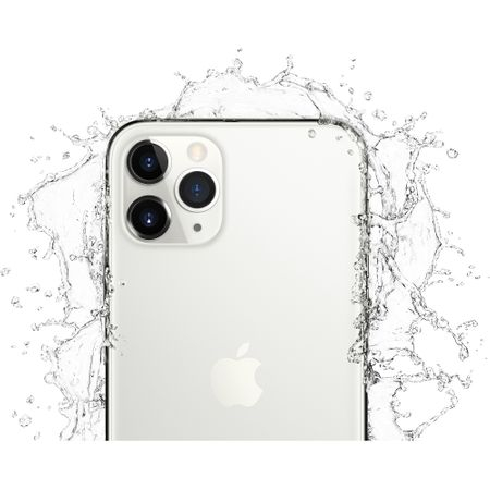 Telefon mobil Apple iPhone 11 Pro Max, 64GB, Silver, Argintiu [3]