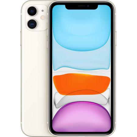 Telefon mobil Apple iPhone 11, 64GB, White [0]