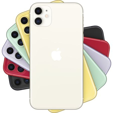 Telefon mobil Apple iPhone 11, 128GB, White [2]