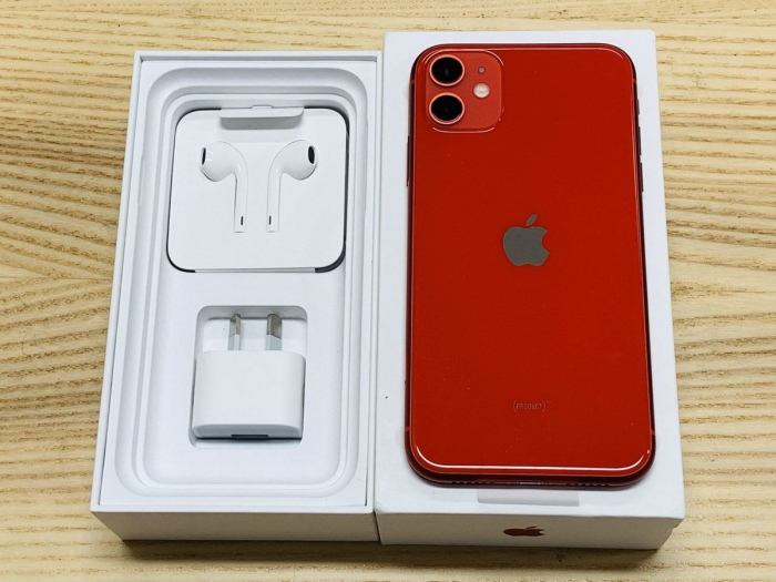 Telefon mobil Apple iPhone 11, 64GB, Red [4]