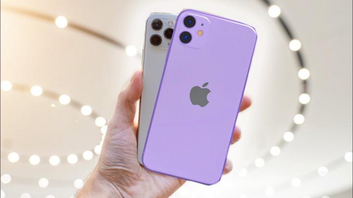 Telefon mobil Apple iPhone 11, 64GB, Purple Mov [1]