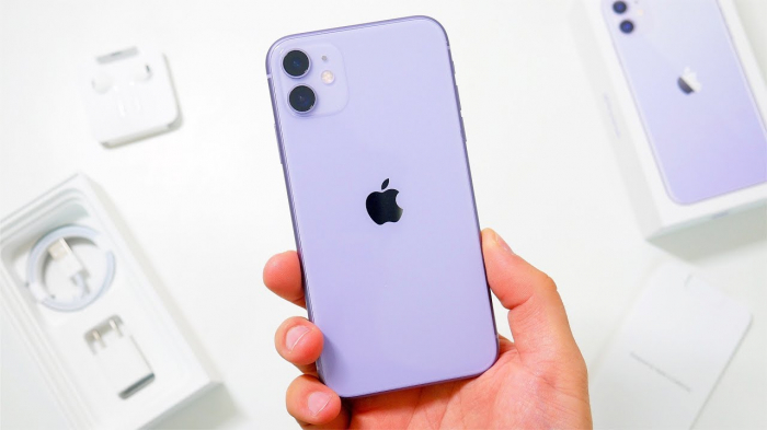 Telefon mobil Apple iPhone 11, 64GB, Purple Mov [2]