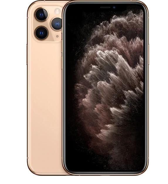 Telefon mobil Apple iPhone 11 Pro Max, 256GB, Gold, Auriu [0]