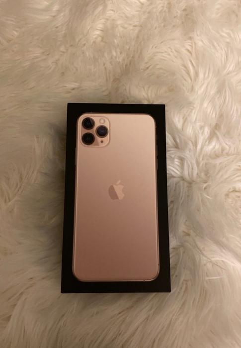 Telefon mobil Apple iPhone 11 Pro Max, 256GB, Gold, Auriu [4]