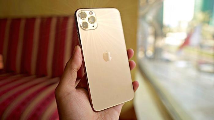 Telefon mobil Apple iPhone 11 Pro Max, 256GB, Gold, Auriu [5]