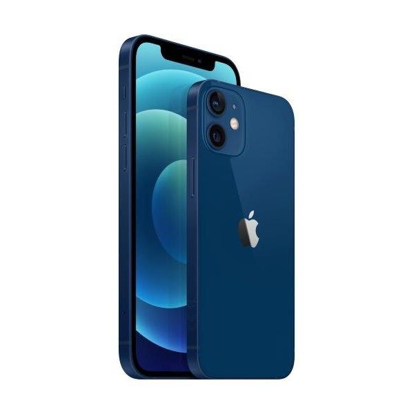 Telefon mobil Apple iPhone 12 Blue Albastru,64GB, Dual eSim, Super retina XDR [3]