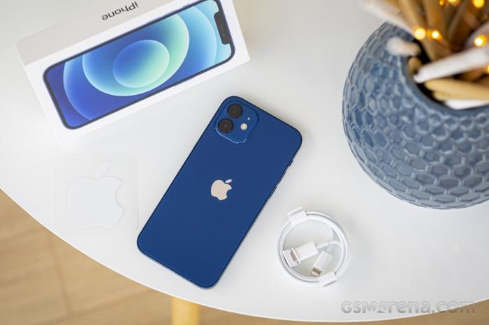 Telefon mobil Apple iPhone 12 Blue Albastru,64GB, Dual eSim, Super retina XDR [5]
