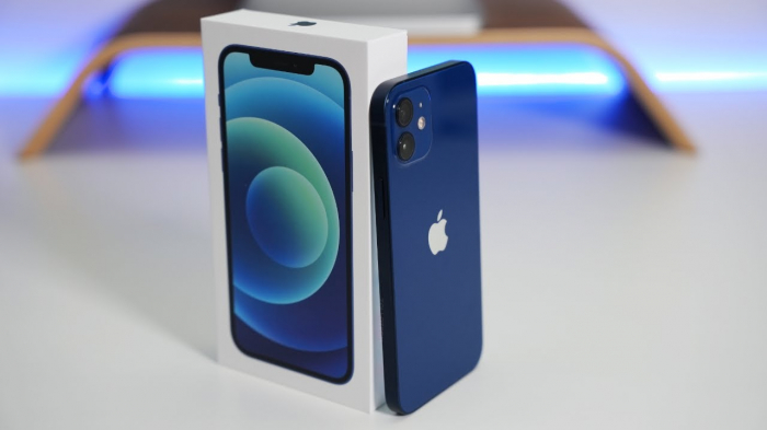 Telefon mobil Apple iPhone 12 Blue Albastru,128 GB, Dual eSim, Super retina XDR [6]