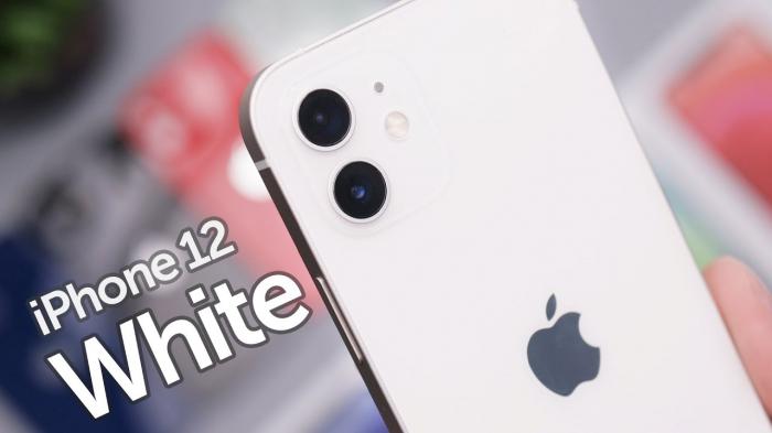 Telefon mobil Apple iPhone 12 White, Alb, 64GB, Dual eSim, Super retina XDR [6]