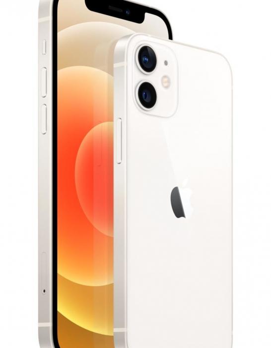 Telefon mobil Apple iPhone 12 White, Alb, 64GB, Dual eSim, Super retina XDR [2]