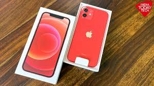 Telefon mobil Apple iPhone 12 Red, Rosu, 64GB, Dual eSim, Super retina XDR [4]