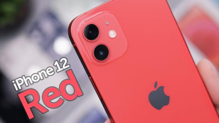 Telefon mobil Apple iPhone 12 Red, Rosu, 64GB, Dual eSim, Super retina XDR [6]