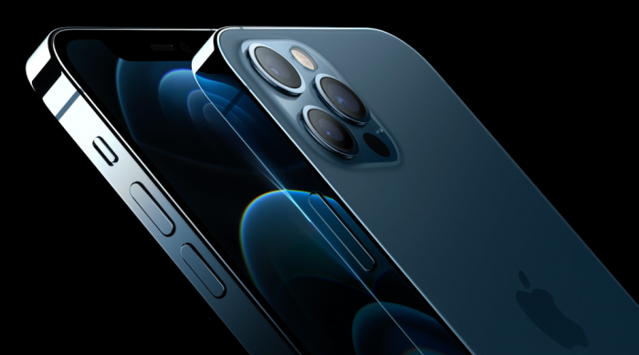Telefon mobil Apple iPhone 12 Pro Pacific Blue 128GB + Folie Sticla Cadou [5]