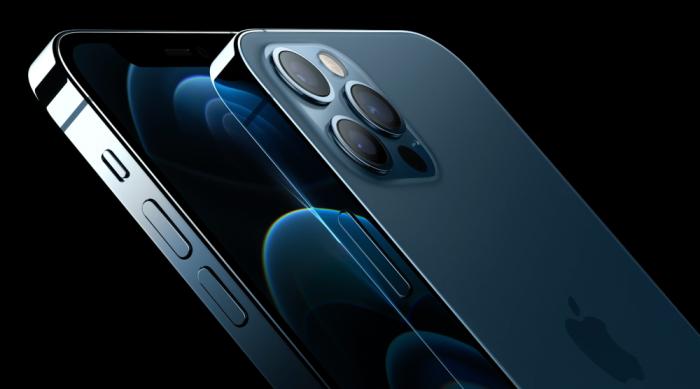 Telefon mobil Apple iPhone 12 Pro Max Pacific Blue 128GB [5]