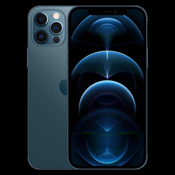 Telefon mobil Apple iPhone 12 Pro Pacific Blue 128GB + Folie Sticla Cadou [9]