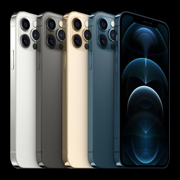 Telefon mobil Apple iPhone 12 Pro Max Pacific Blue 128GB [11]
