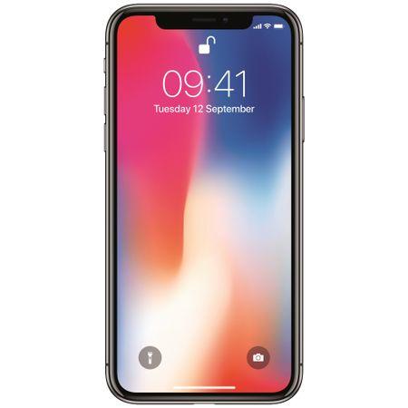 Telefon Mobil iPhone X, Silver,64 GB, Garantie 2 ani [1]