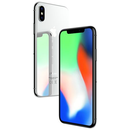 Telefon Mobil iPhone X, Silver,64 GB, Garantie 2 ani [0]