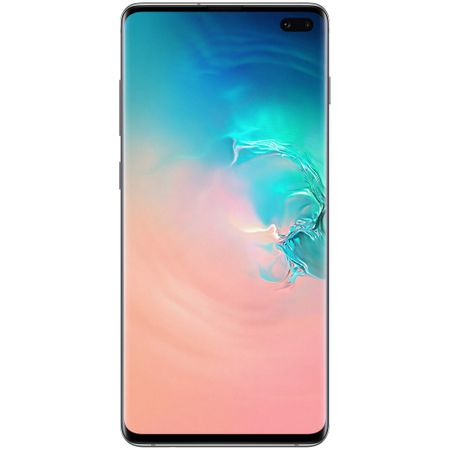 Telefon mobil Samsung Galaxy S10+, Dual SIM, 128GB, 8GB RAM, 4G, Prism White [0]