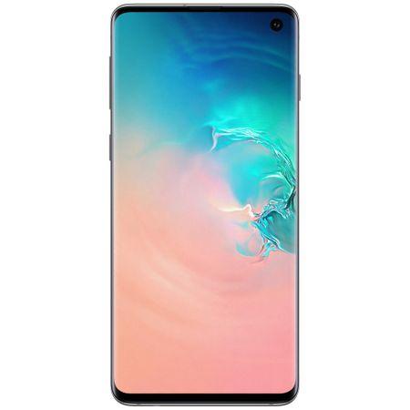 Telefon mobil Samsung Galaxy S10, Dual SIM, 128GB, 8GB RAM, 4G, Prism White [0]