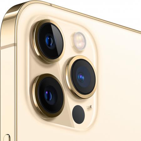 Telefon mobil Apple iPhone 12 Pro Gold Auriu 128GB + Folie Sticla Cadou [1]