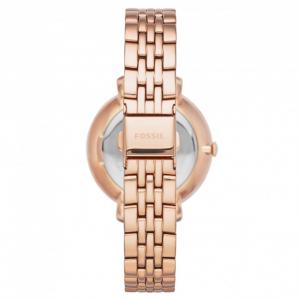 Ceas de dama Fossil, plin cu cristale LUX stralucitoare, Auriu rose, ES3546 [6]
