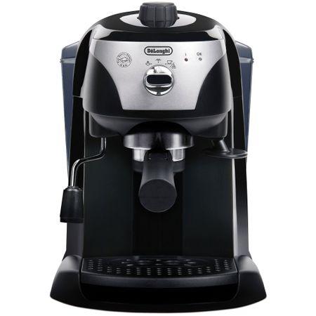 Espressor manual De'Longhi EC221.B, Dispozitiv spumare, Sistem cappuccino, 15 Bar, 1 l, Oprire automata, Negru/Gri [3]