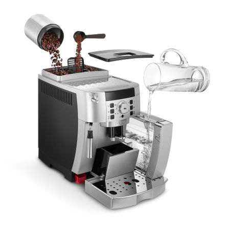 Espressor Automat De'Longhi, ECAM 22.110 SB, 145 0W, 15 bar, 1.8 L, Negru Argintiu [6]