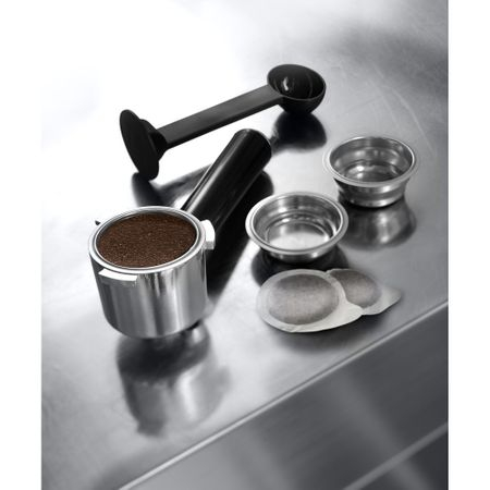 Espressor cu pompa De'Longhi ECP 35.31, 1100 W, 15 bar, 1.1 l, Negru, Suport filtru profesional, Cappuccino system reglabil - functie apa calda [2]