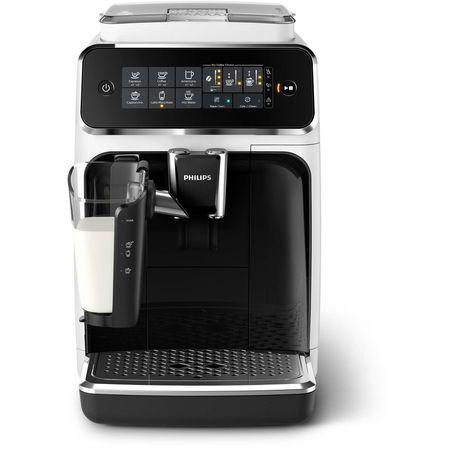 Espressor automat Philips EP3243.70, sistem de lapte LatteGo, 5 bauturi, filtru AquaClean, rasnita ceramica, optiune cafea macinata, ecran tactil, Alb [4]