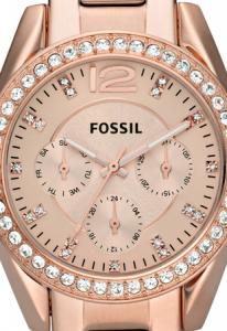 Ceas de dama Fossil cu functii multiple si cristale LUX Swarovski [3]