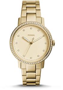 Ceas de dama Fossil, cu cristale LUX Neely, Auriu deschis [0]